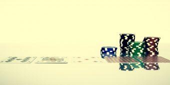 Texas Hold'em poker game gamble